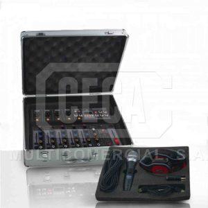 KIT 'MIXER6  SOUNDTRACK ,MIC,CABLES ,HPH,ADPT,USB