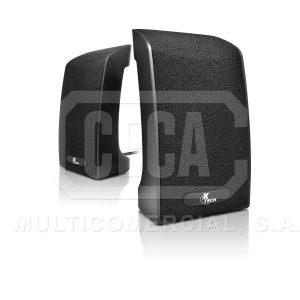 PARLANTES AMPLIFICADOS USB NEGROS XTECH  XTS-120