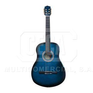 GUITARRA ACUSTICA AZUL  38 ROLLINS   NYLON – 910