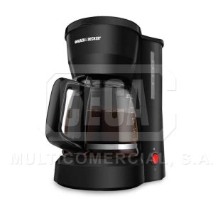 CAFETERA B&D DCM601B, CAPACIDAD DE 5 TAZAS COLOR